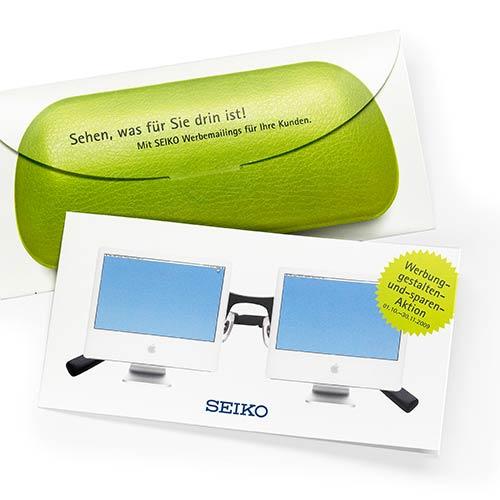Mailing für SEIKO - entwickelt von der Echtzeit